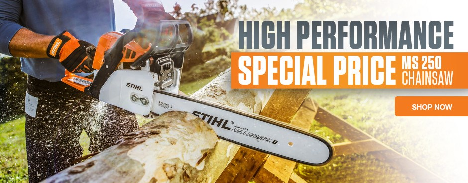 Save Now on the MS 250 Chainsaw